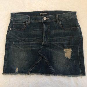 Express Jean Skirt!